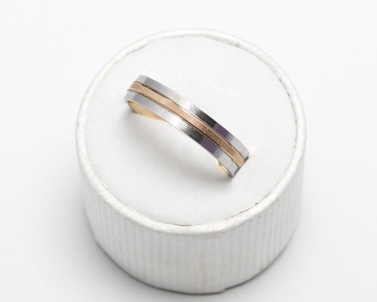 6fb80e033a8e Alianza de 4mm de compromiso de bodas en oro 18Kt