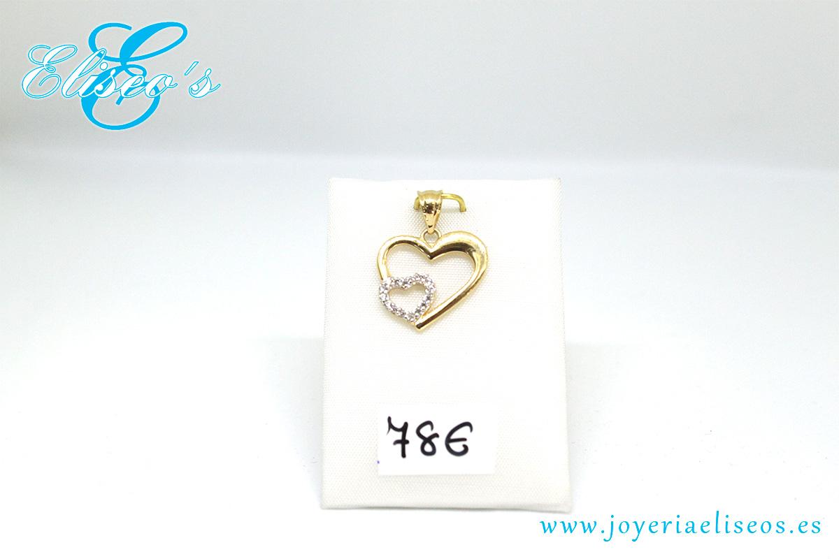 colgante-corazon-oro-amarillo-corazon-oro-blanco-joyeria-eliseos-malaga