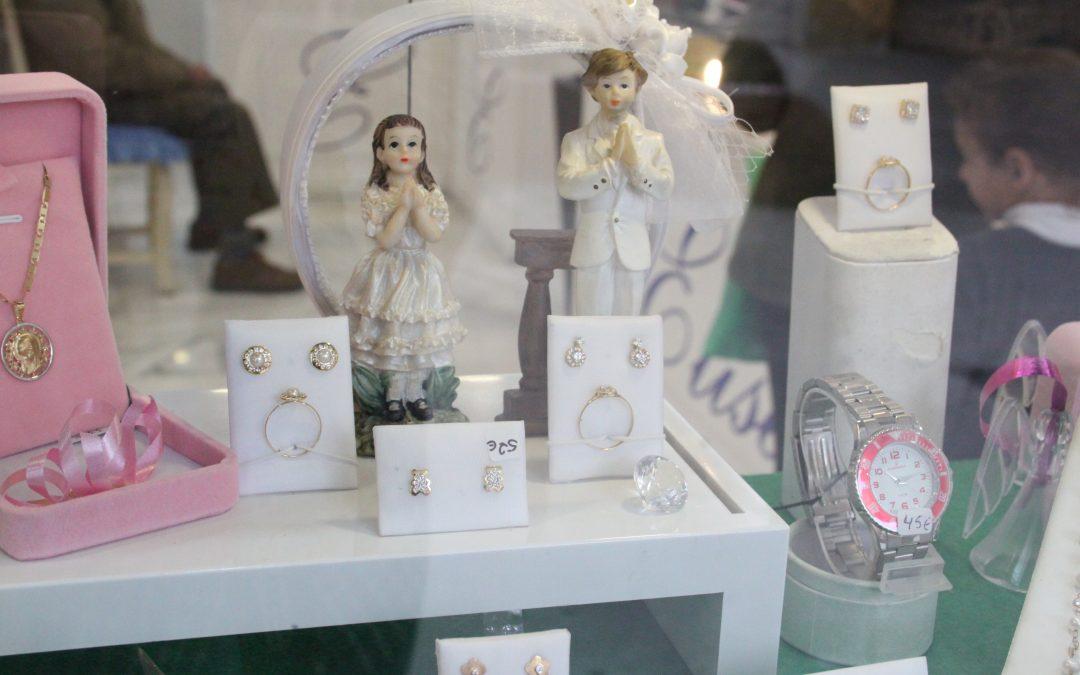 Regalos de Comuniones en nuestra joyería de Málaga