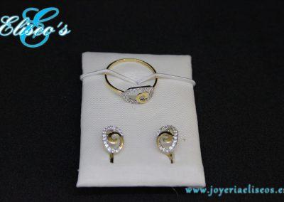 conjunto-pendientes-anillo-oro-circonita-joyeria-eliseos-malaga
