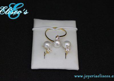 conjunto-pendientes-anillo-oro-fino-perlas-joyeria-eliseos-malaga