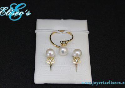 conjunto-pendientes-anillo-oro-perla2-joyeria-eliseos-malaga