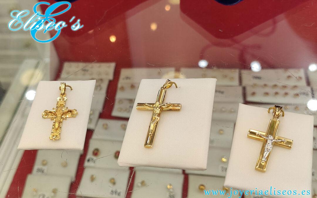 Medallitas y cruces ideales para bautizos y comuniones